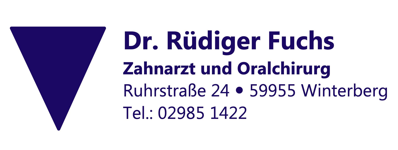 Dr. med. dent. Rüdiger Fuchs